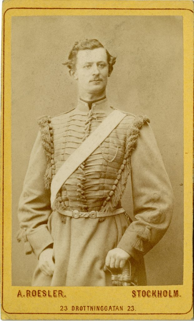 Porträtt av Gustaf Adolf Boltenstern